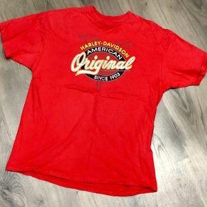 Vintage Harley Davidson T Shirt XL 1990 Stratman